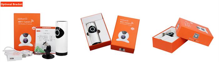 Hot Sale 360 Eye S Mini Fisheye 720P HD P2P Wireless IP Camera